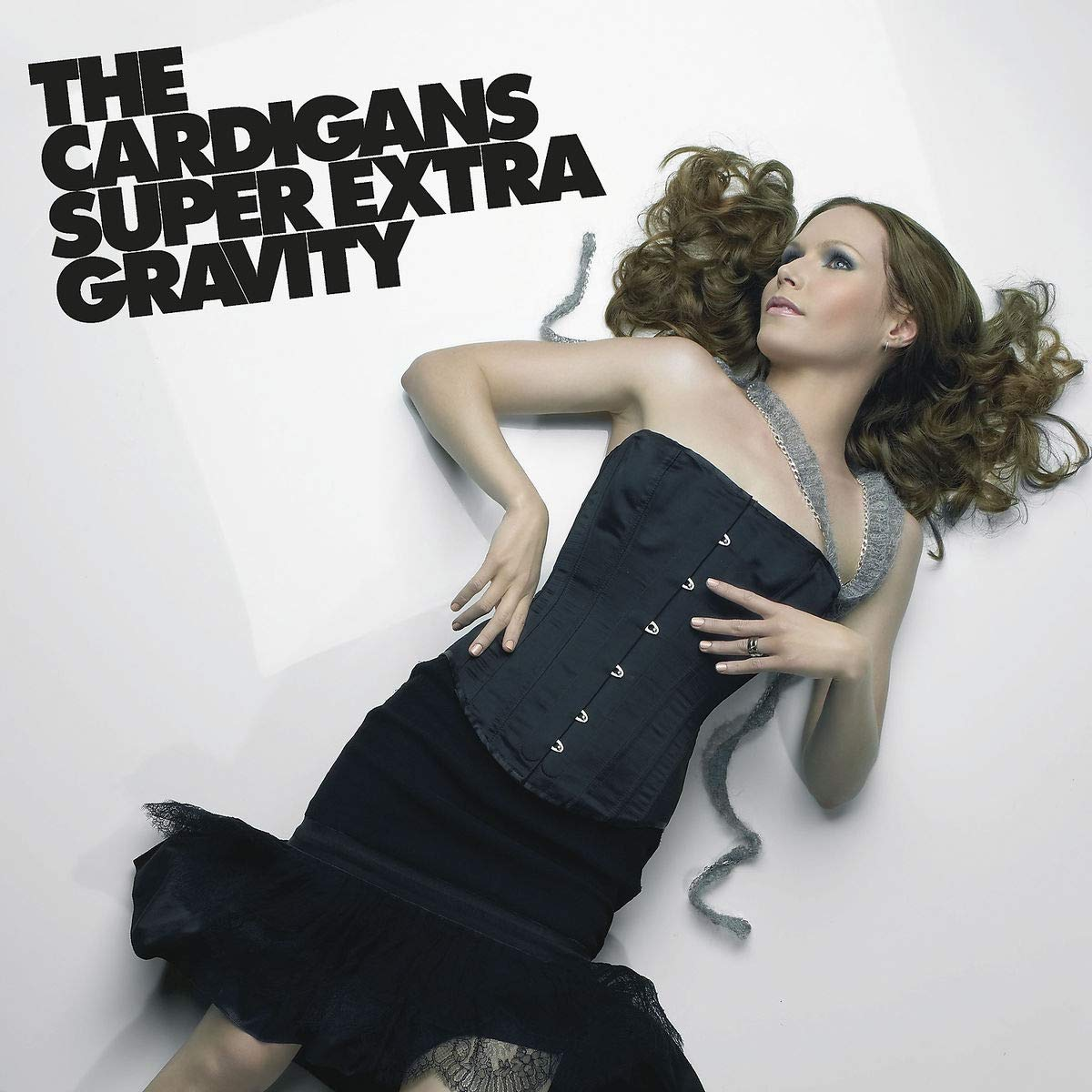 The Cardigans The Cardigans. Super Extra Gravity (LP) white open front floral print cardigans