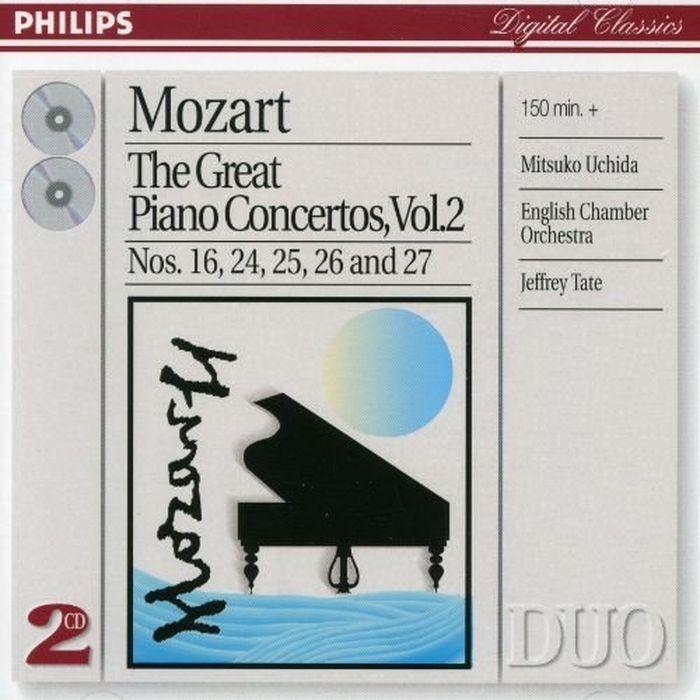 Мицуко Ючида Mozart. The Great Piano Concertos, Vol.2 (2 CD) мицуко ючида schumann carnival kreisleriana