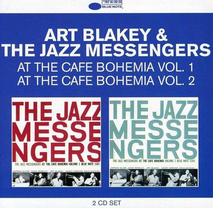 Art Blakey. At The Cafe Bohemia Vol.1 & Vol.2 (2 CD) hit dance vol 1 2 cd