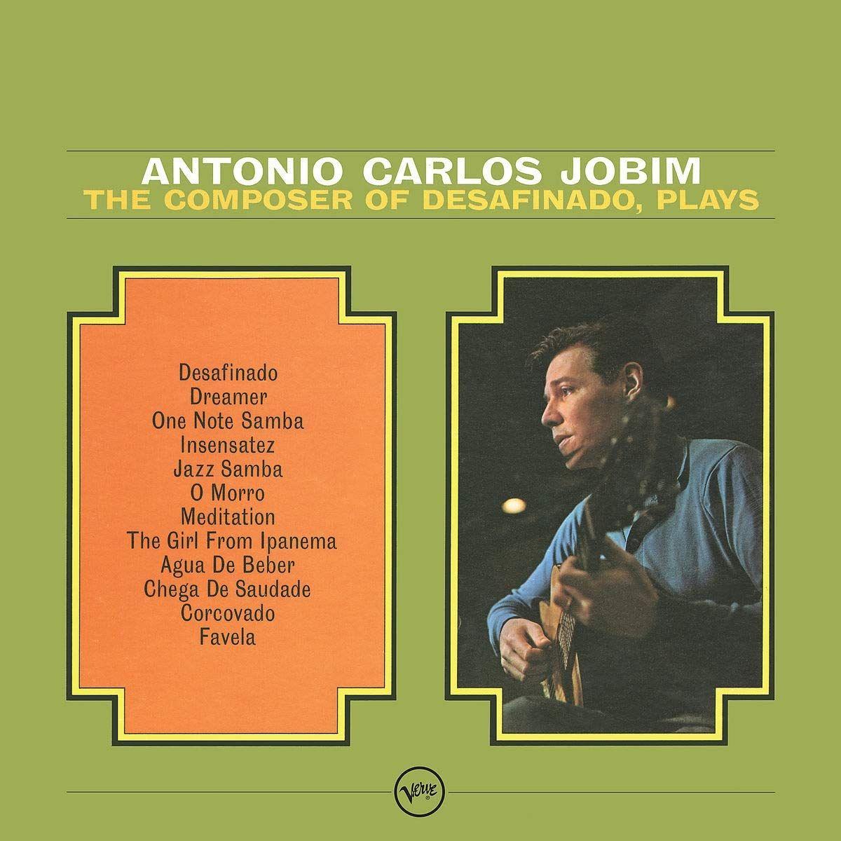 Antonio Carlos Jobim. The Composer Of Desafinado Plays (LP) antonio carlos jobim antonio carlos jobim stone flower