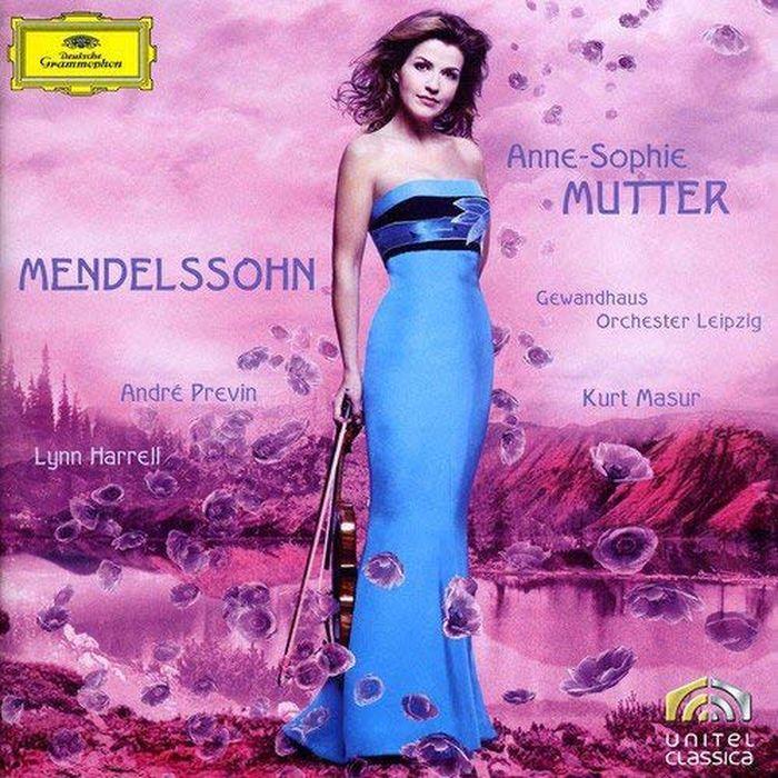 Anne-Sophie Mutter. Mendelssohn: Violin Concerto, Violin Sonata t nicholson violin sonata