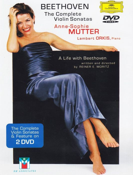 Anne-Sophie Mutter. Beethoven: The Complete Violin Sonatas (2 DVD) анна софи муттер ламберт оркис anne sophie mutter lambert orkis beethoven violin sonatas nos 5