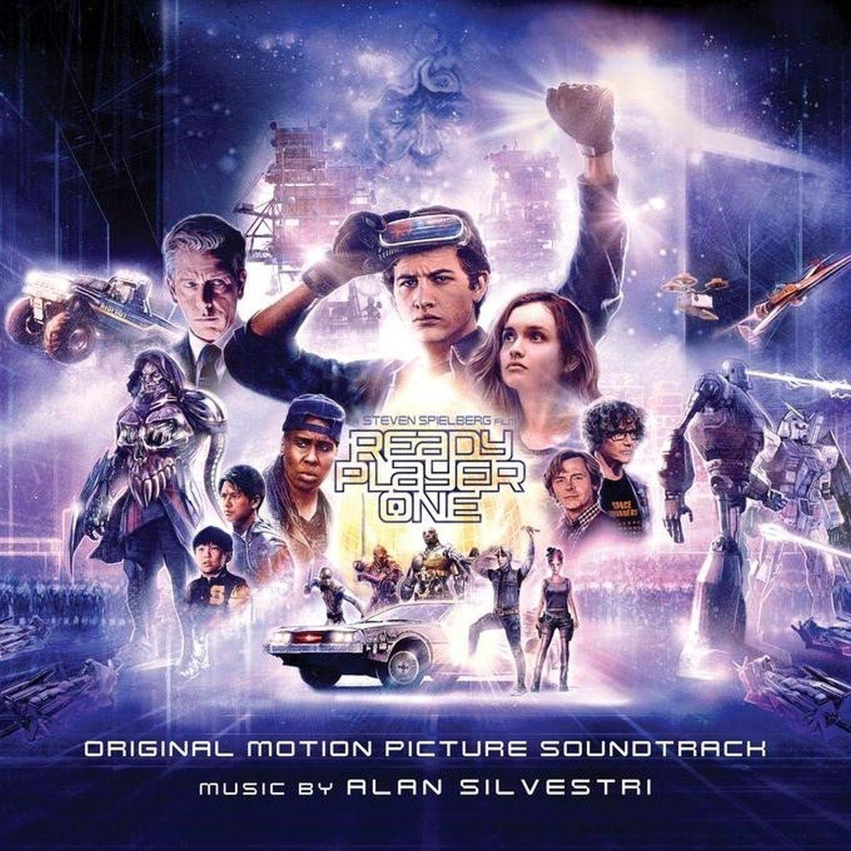 Alan Silvestri. Ready Player One. Original Motion Picture Soundtrack (2 CD) ховард шор howard shore the hobbit an unexpected journey original motion picture soundtrack 2 cd