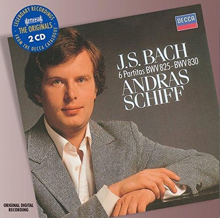 Andras Schiff. Bach: Partitas (2 CD) андрас шифф andras schiff solo piano music 6 cd