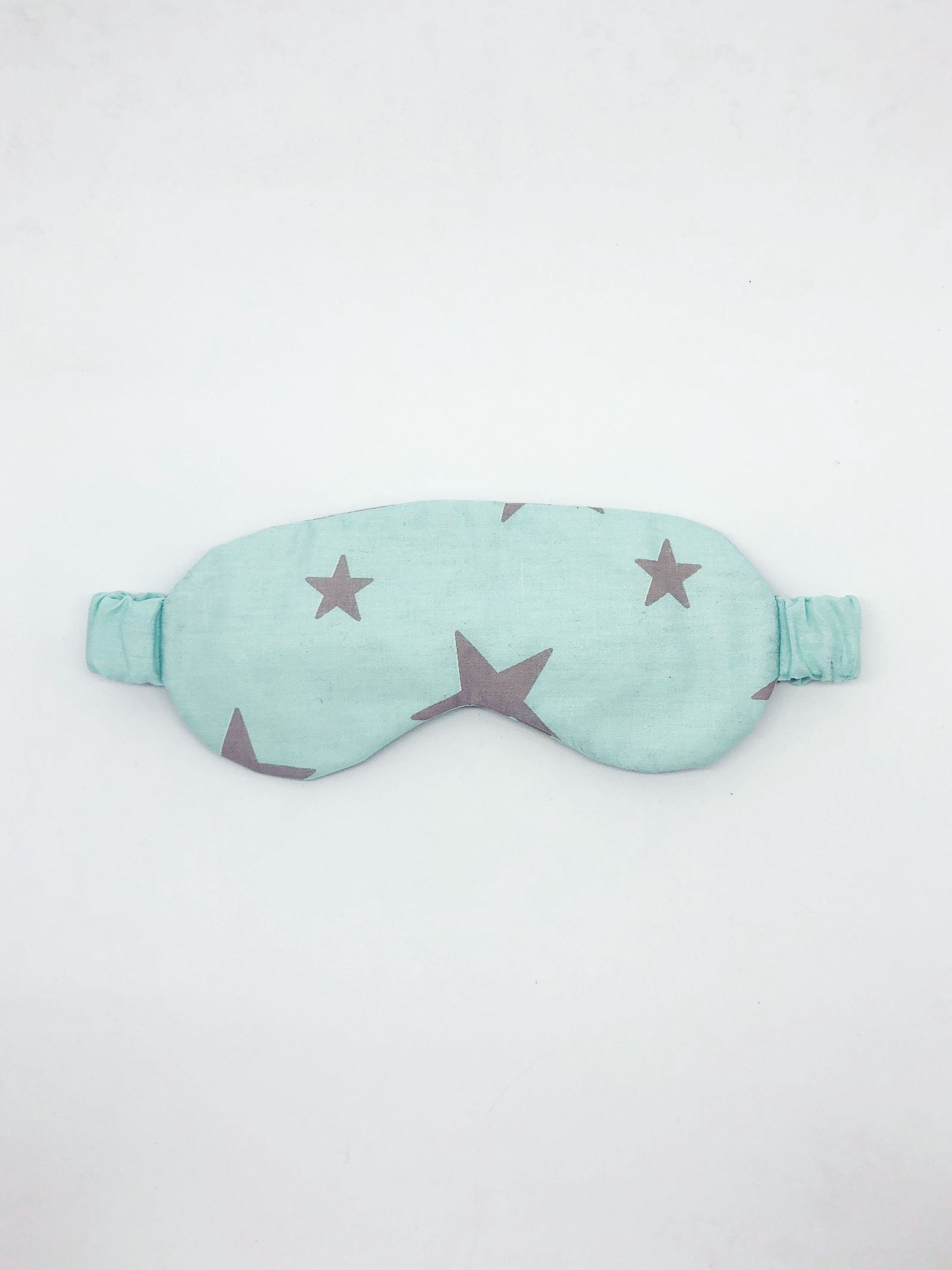 Маска для сна Cozy&Cute Home Серые звезды на голубом, серый, голубой