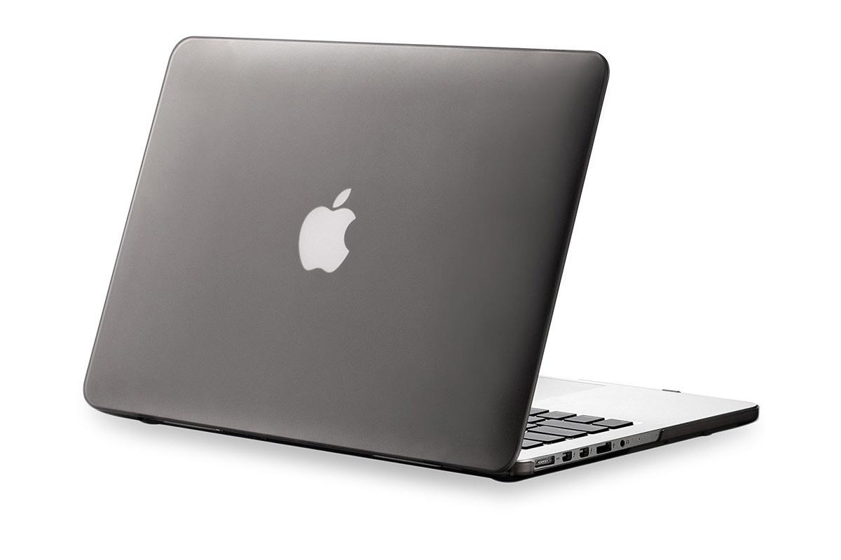 """Чехол для ноутбука Gurdini накладка пластик матовый 220032 для MacBook Pro 15"""" 2008-2012, серый"""