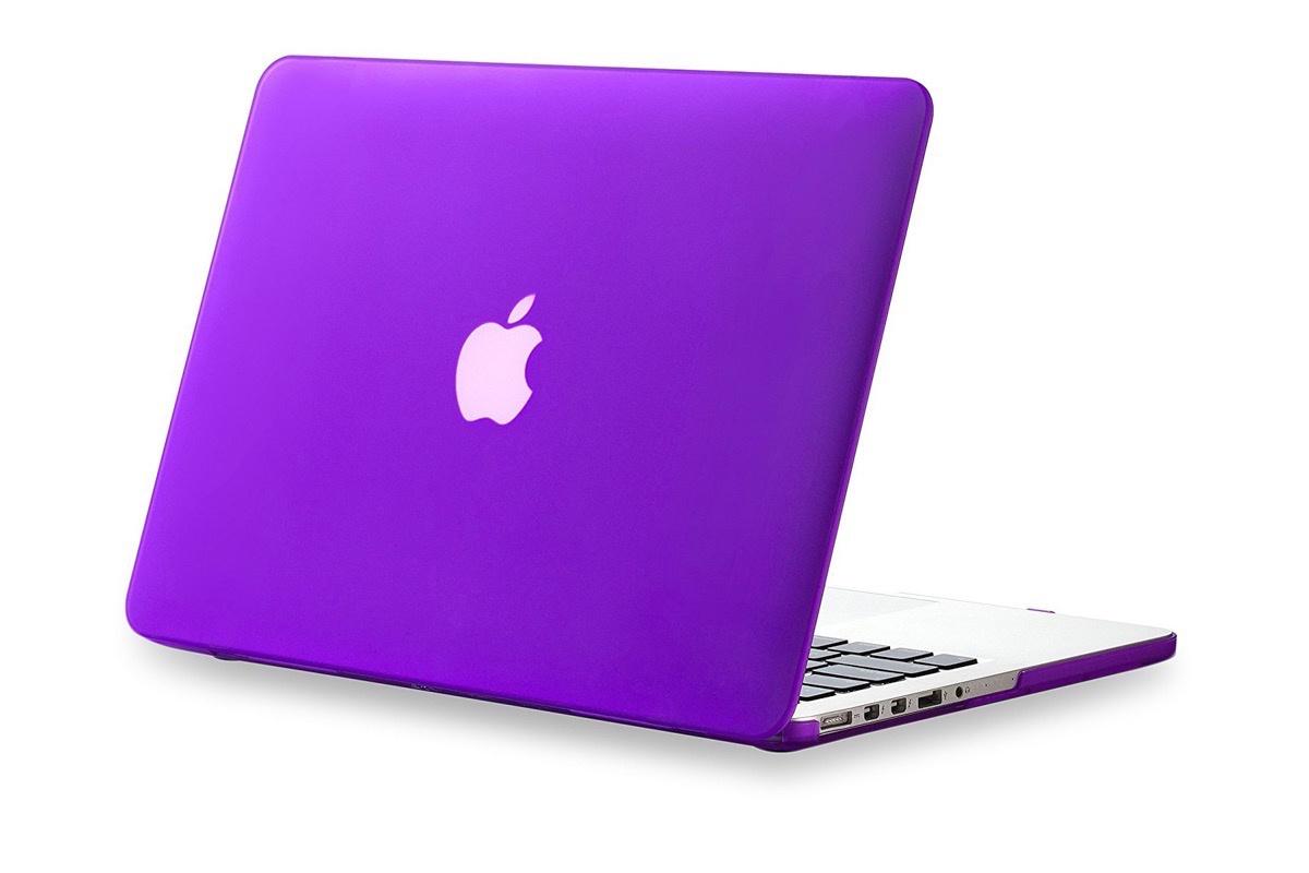Чехол для ноутбука Gurdini накладка пластик матовый 220053 для MacBook Pro 15 20082012 фиолетовый
