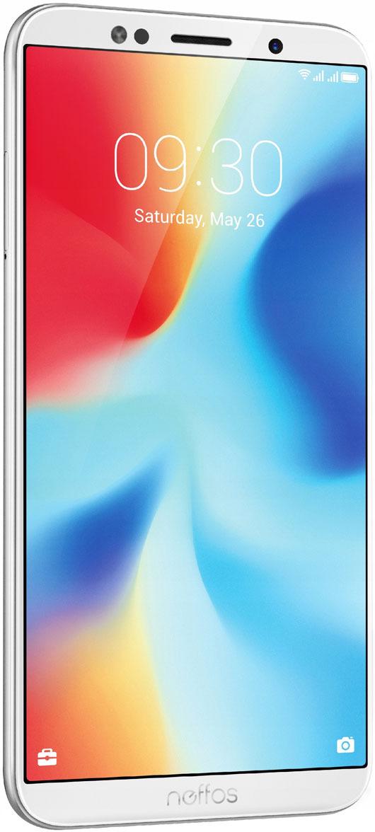 Смартфон Neffos C9A 16 GB, серебристый