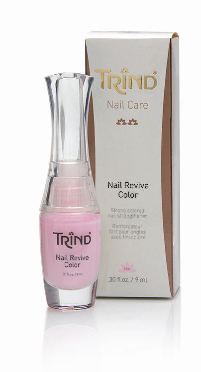 Nail Revive Lilac Укрепитель для ногтей лиловый без формальдегида TRIND