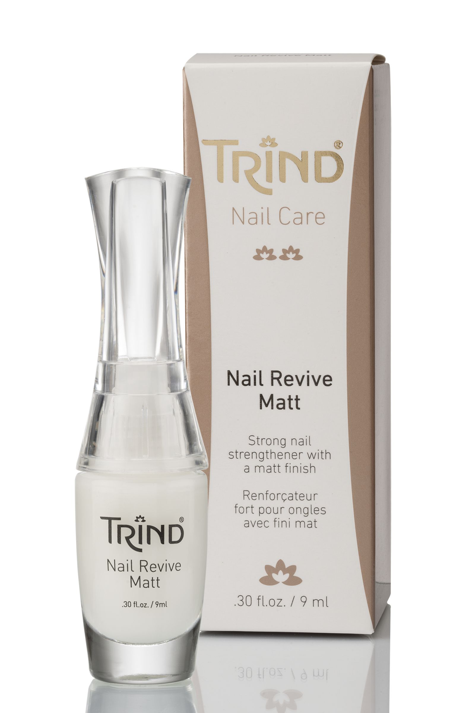 Nail Revive Matt Укрепитель ногтей матовый без формальдегида TRIND
