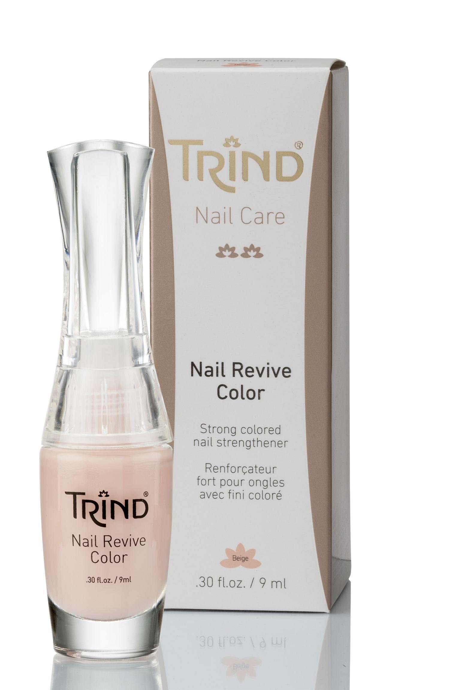 Укрепитель для ногтей бежевый без формальдегида TRIND