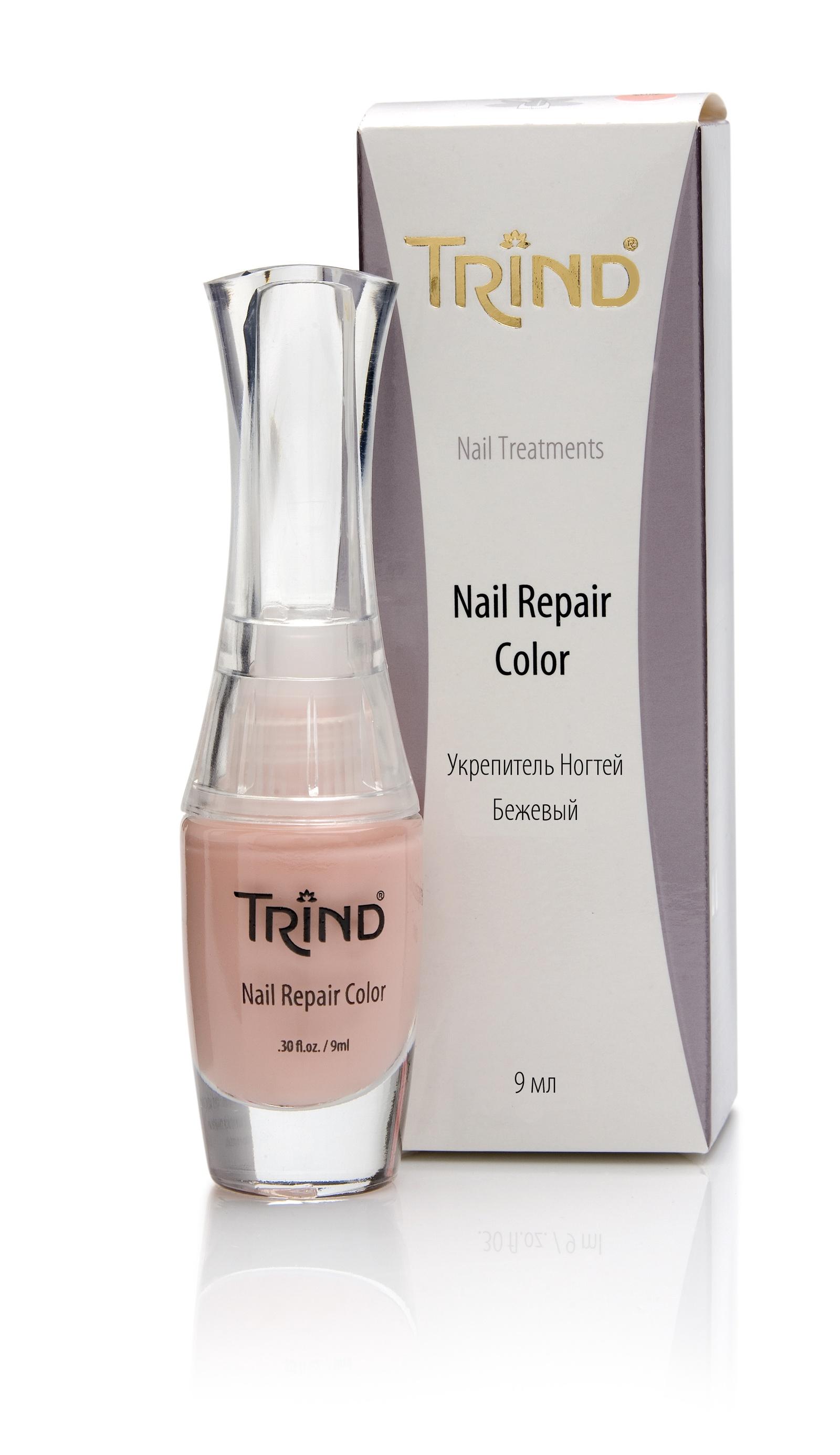 Nail Repair Beige Укрепитель для ногтей бежевый TRIND недорого