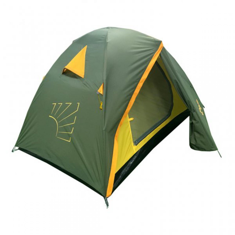 Палатка Helios УТ000016718, хаки, желтый