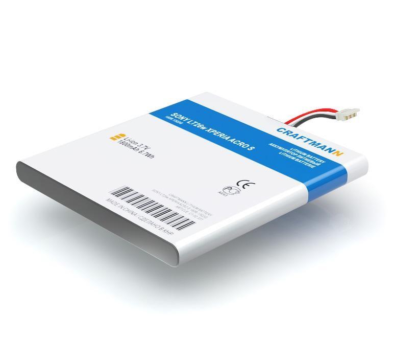 Аккумулятор для телефона Craftmann LIS1489ERPC для SONY LT26w Xperia Acro S