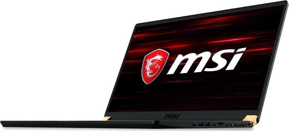 Игровой ноутбук MSI GS75 Stealth 8SE 9S7-17G111-039, черный ноутбук msi gs65 8rf 069ru core i7 8750h 32gb 512gb ssd nv gtx1070 8gb 15 6 fullhd win10 black