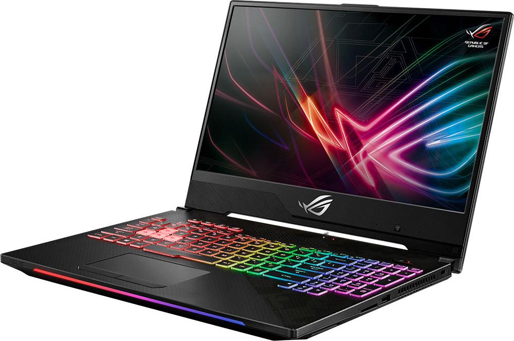 """15.6"""" Игровой ноутбук ASUS ROG Strix SCAR II GL504GS 90NR00L1-M02970, темно-серый"""