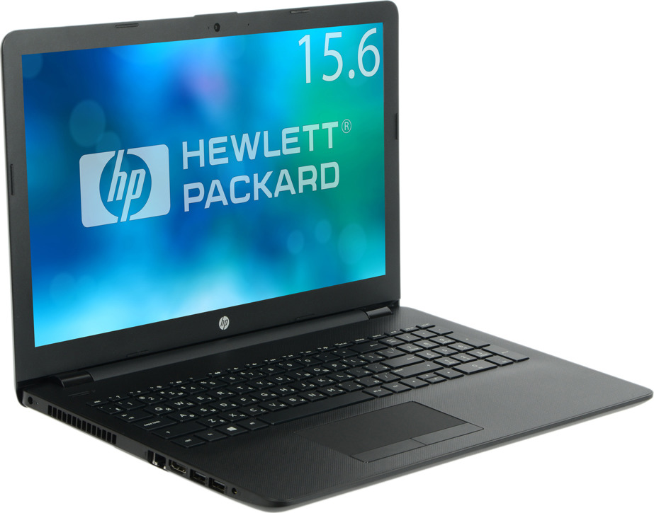 15.6 Ноутбук HP 15-rb015ur 15.6 3QU50EA, черный ноутбук hp 17 ak021ur 2cp35ea amd e2 9000e 1 5 4gb 128gb ssd 17 3 hd amd radeon r2 dvd sm bt win10 white