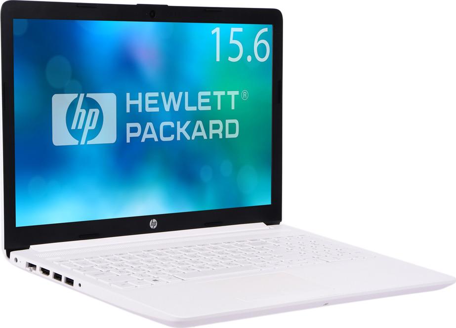 15.6 Ноутбук HP 15-da0089ur 4KH99EA, белый ноутбук hp 15 da0089ur