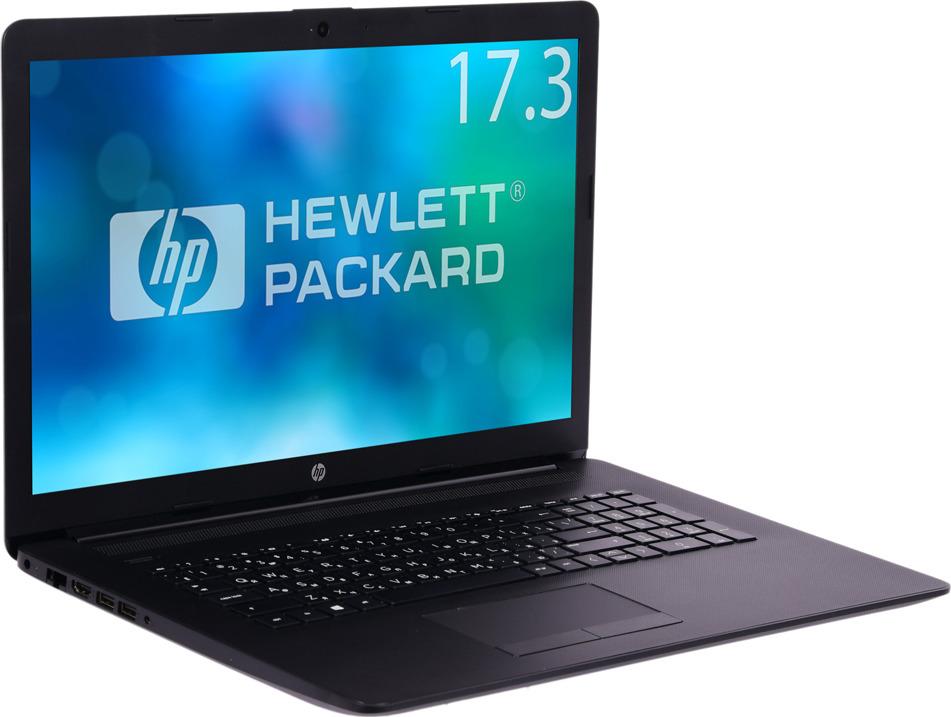 Ноутбук HP 17-ca0005ur 4KD76EA, черный ноутбук hp 17 bs035ur i3 6006u 2000mhz 4gb 500gb 17 3 hd int intel hd dvd rw win10