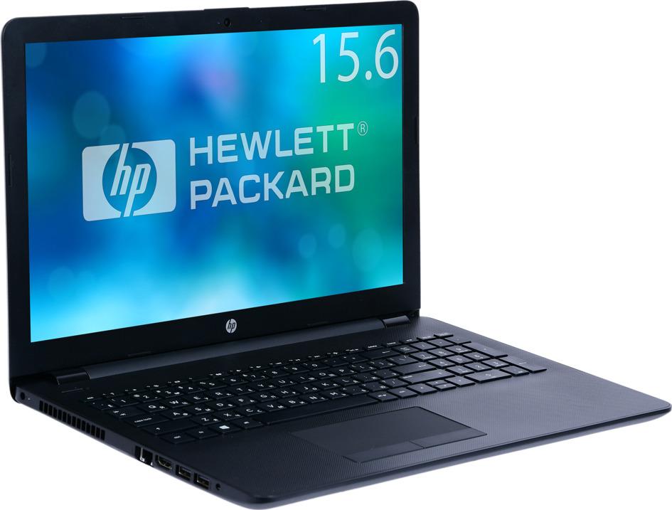Ноутбук HP 15-bs164ur 4UK90EA, черный hp 250 g4 p5t49es core i3 5005u 2ghz 15 6 4gb 1tb r5 m330 dos grey