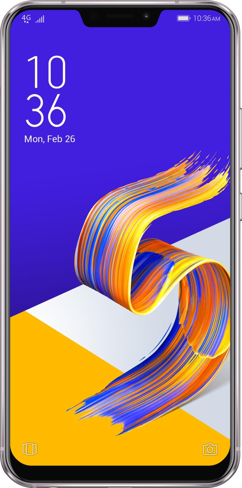 Смартфон ASUS ZenFone 5 ZE620KL 4/64GB gray смартфон asus zenfone 5 ze620kl 4 64gb midnight blue