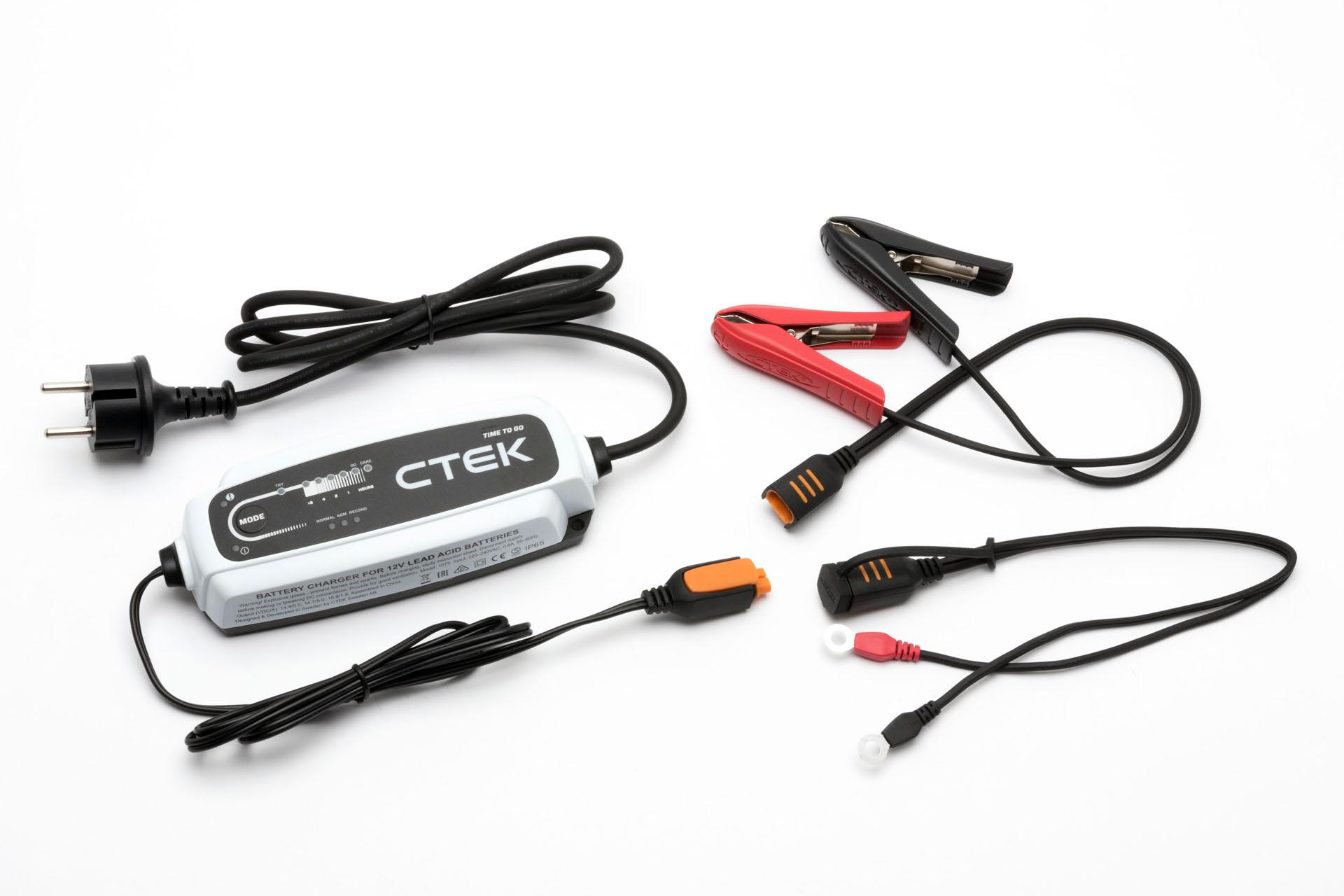 Автомобильное зарядное устройство CTEK CT5 TIME TO GO