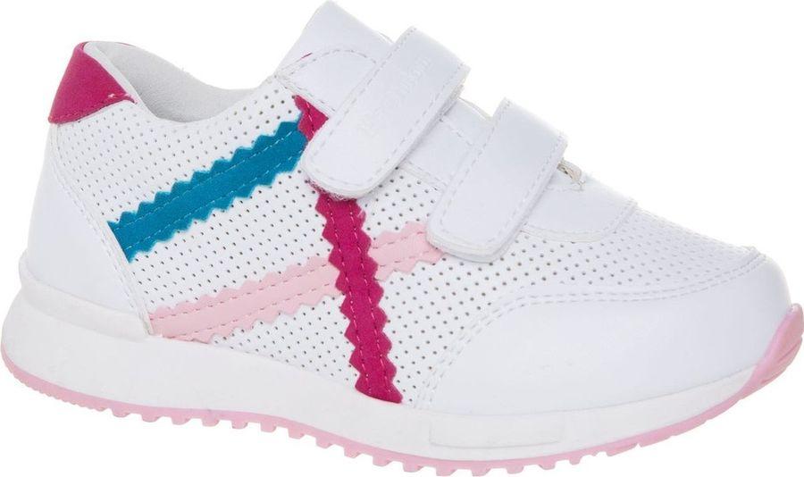 Кроссовки для девочки Счастливый ребенок, цвет: белый. R8792-1. Размер 29R8792-1