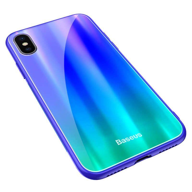 Чехол для сотового телефона Baseus WIAPIPHX-XC36, синий, зеленый baseus guards case tpu tpe cover for iphone 7 plus blue