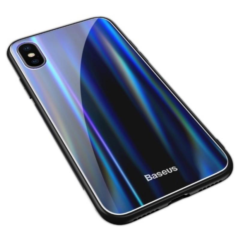 Чехол для сотового телефона Baseus WIAPIPHX-XC01, черный baseus guards case tpu tpe cover for iphone 7 red