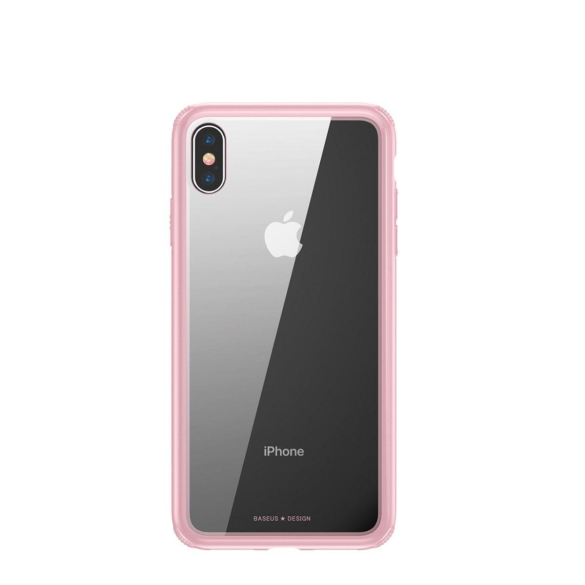 Чехол для сотового телефона Baseus WIAPIPH65-YS04, розовый braless see through backless babydoll