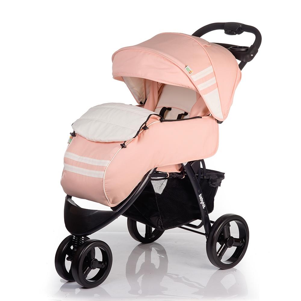 Коляска прогулочная Babyhit VOYAGE светло-бежевый коляска прогулочная babyhit voyage air бежевый voyage air beige