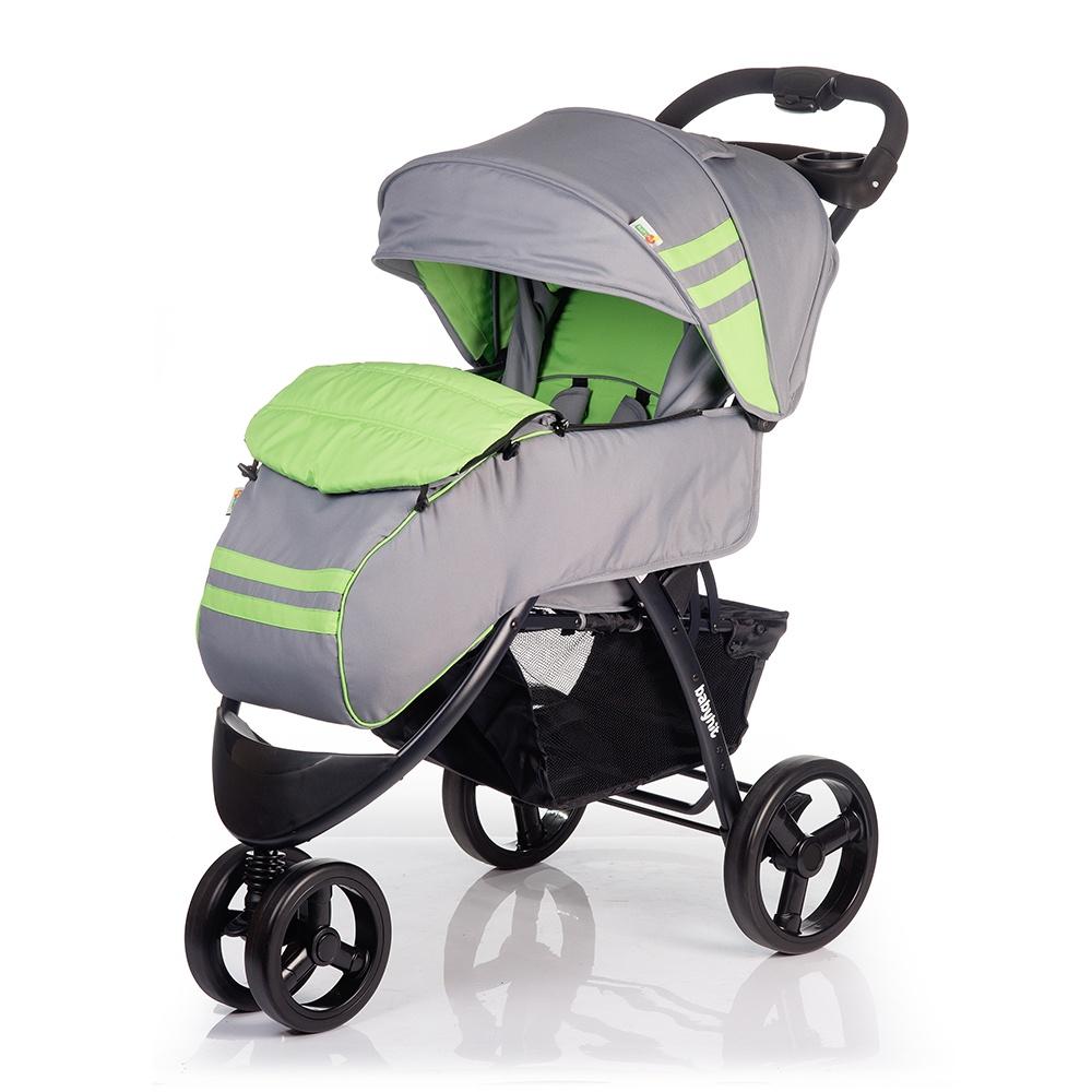 Коляска прогулочная Babyhit VOYAGE серый, зеленый коляска прогулочная adamex neonex серый зеленый 36c gl000523946
