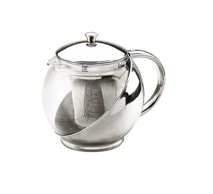 Чайник заварочный Bekker F0000006046 крышка стеклянная bekker с металлическим ободком