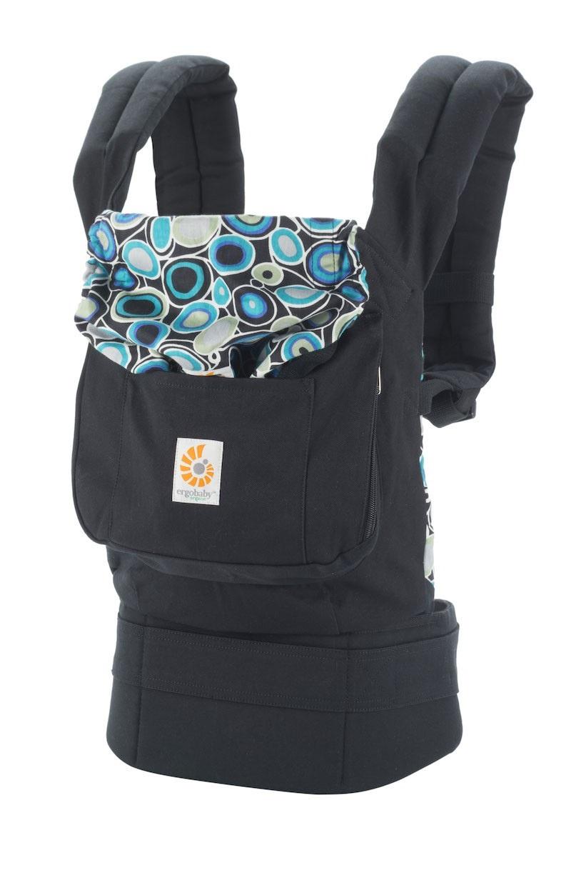 Рюкзак-переноска ERGO Baby Carrier Inc BCOQZS14NL черный