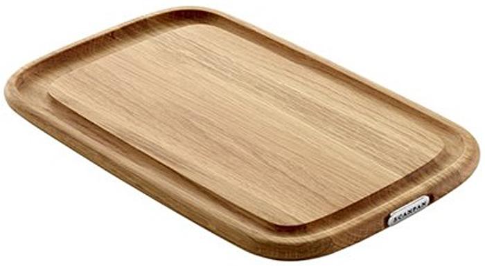 Разделочная доска Scanpan Maitre D, 97804000, светло-коричневый, 25 х 39,5 см доска разделочная для пиццы америка цвет коричневый 32 х 32 х 1 5 см