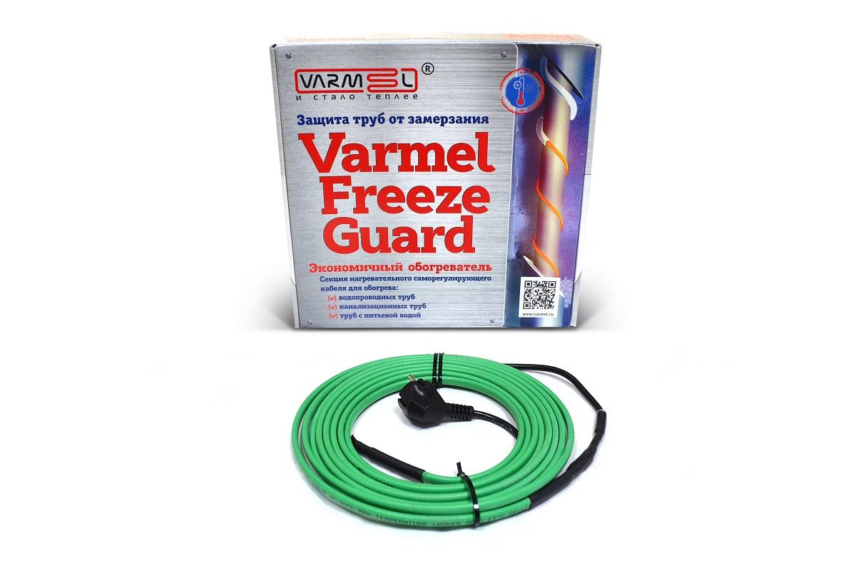 Varmel Freeze Guard 16VFGM2-CR-5м нагревательная секция (комплект водопроводный) теплолюкс freezstop lite 15 9 комплект саморегулирующегося кабеля для обогрева труб