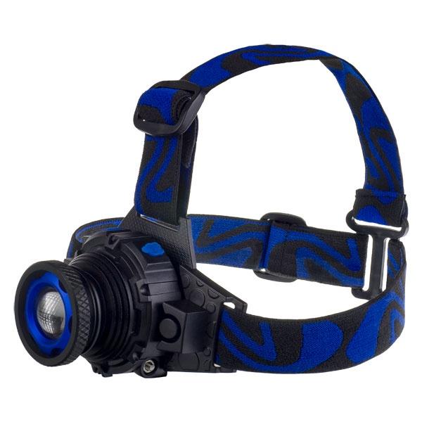 Налобный фонарь Perfeo PF_A4403, синий недорого