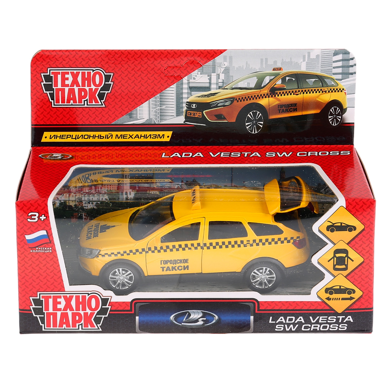 Машинка-игрушка Технопарк VESTA-CROSS-T