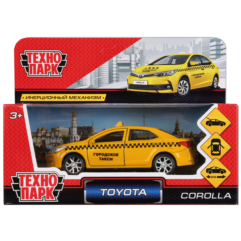 Машинка-игрушка Технопарк COROLLA-T машинка игрушка технопарк corolla p