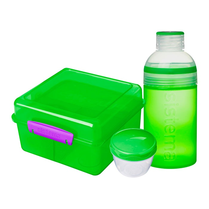 Ланч-бокс Sistema 41580_Зеленый, зеленый