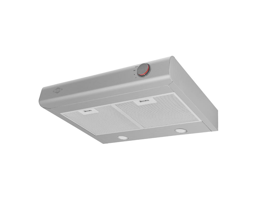 Вытяжка MBS VALLOTA 160 INOX, серый металлик