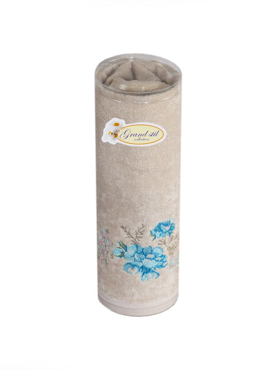 Полотенце для лица, рук или ног Grand Stil Виола , размер 48*90, GS-H49t, бежевыйGS-H49tbЛицевое полотенце в тубусе. Торговая Марка «Гранд стиль» производит и реализует текстиль только наивысшего качества. Мы предлагаем махровые изделия изготовленные из бамбука и хлопка. Наши полотенца прекрасно впитывают влагу, не линяют и не выцветают.