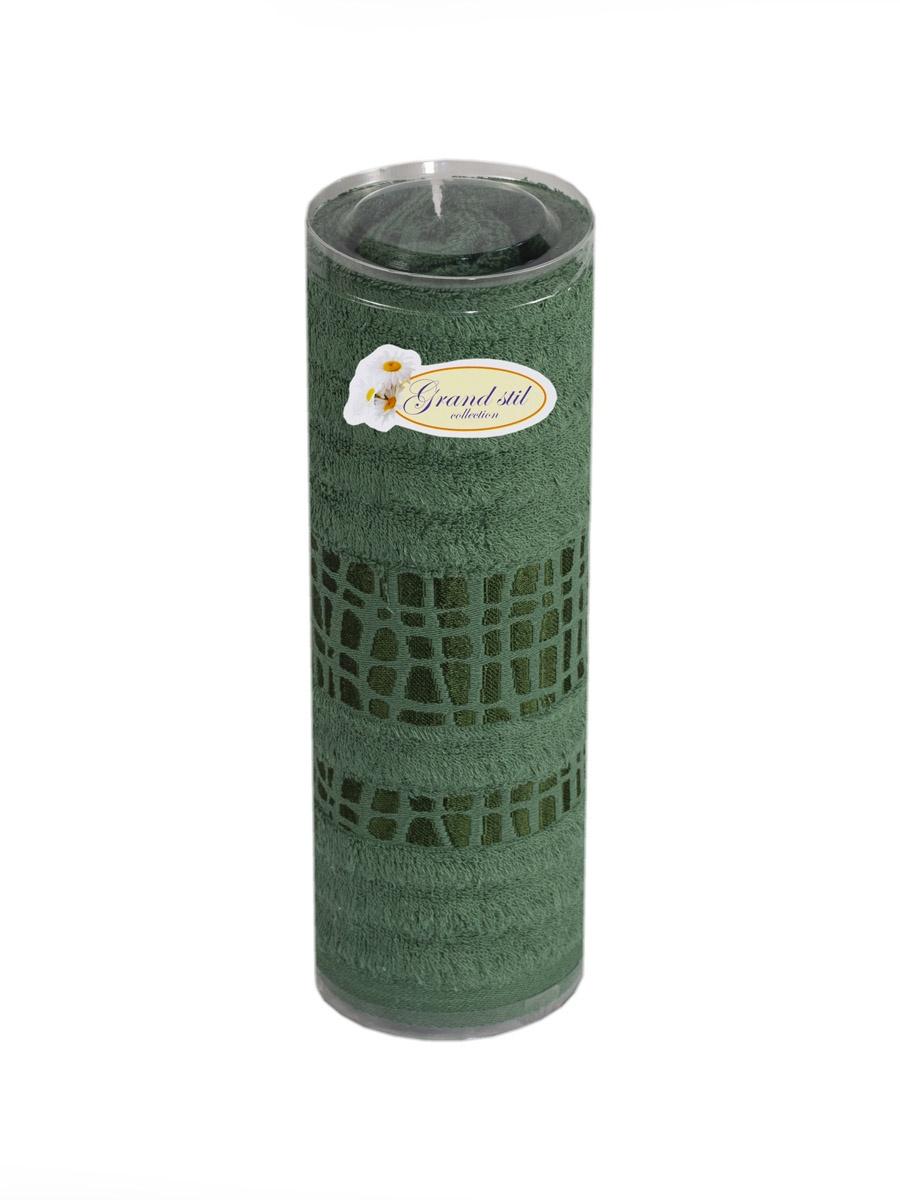 Полотенце для лица, рук или ног Grand Stil Восторг , размер 48*90, GS-H27t, зеленыйGS-H27tzЛицевое полотенце в тубусе. Торговая Марка «Гранд стиль» производит и реализует текстиль только наивысшего качества. Мы предлагаем махровые изделия изготовленные из бамбука и хлопка. Наши полотенца прекрасно впитывают влагу, не линяют и не выцветают.