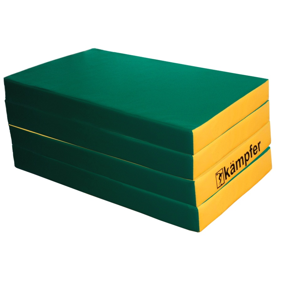 Мат Kampfer mat 7 green, зеленый, желтый kampfer little sunny