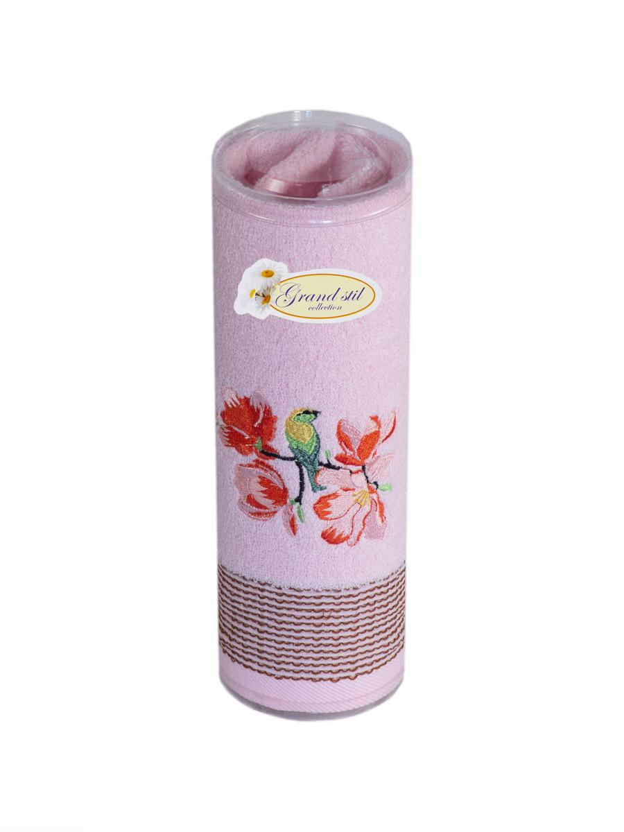 Полотенце для лица, рук или ног Grand Stil Лея , размер 45*90, N18-80t, розовыйN18-80trЛицевое полотенце в тубусе. Торговая Марка «Гранд стиль» производит и реализует текстиль только наивысшего качества. Мы предлагаем махровые изделия изготовленные из бамбука и хлопка. Наши полотенца прекрасно впитывают влагу, не линяют и не выцветают.