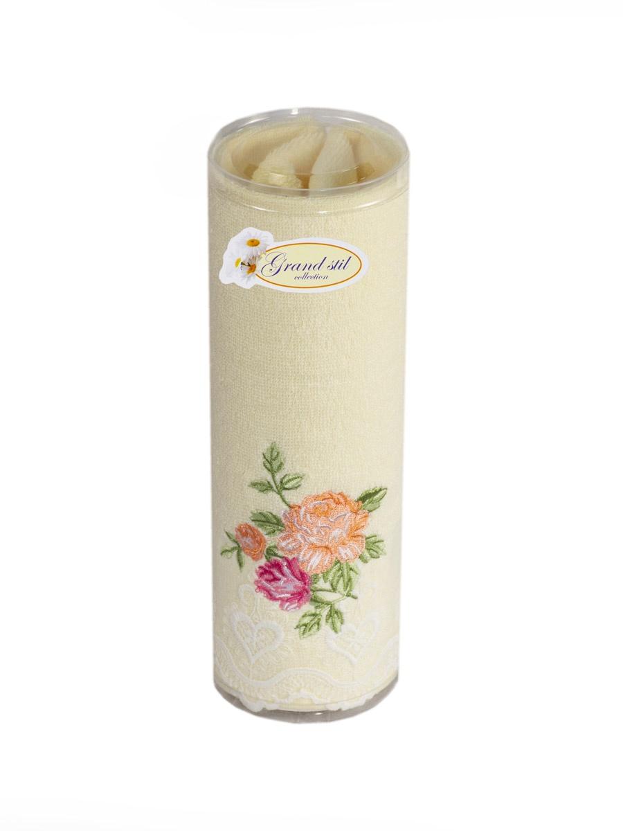 Полотенце для лица, рук или ног Grand Stil Лютея , размер 45*90, 14-155t, желтый14-155tjЛицевое полотенце в тубусе. Торговая Марка «Гранд стиль» производит и реализует текстиль только наивысшего качества. Мы предлагаем махровые изделия изготовленные из бамбука и хлопка. Наши полотенца прекрасно впитывают влагу, не линяют и не выцветают.