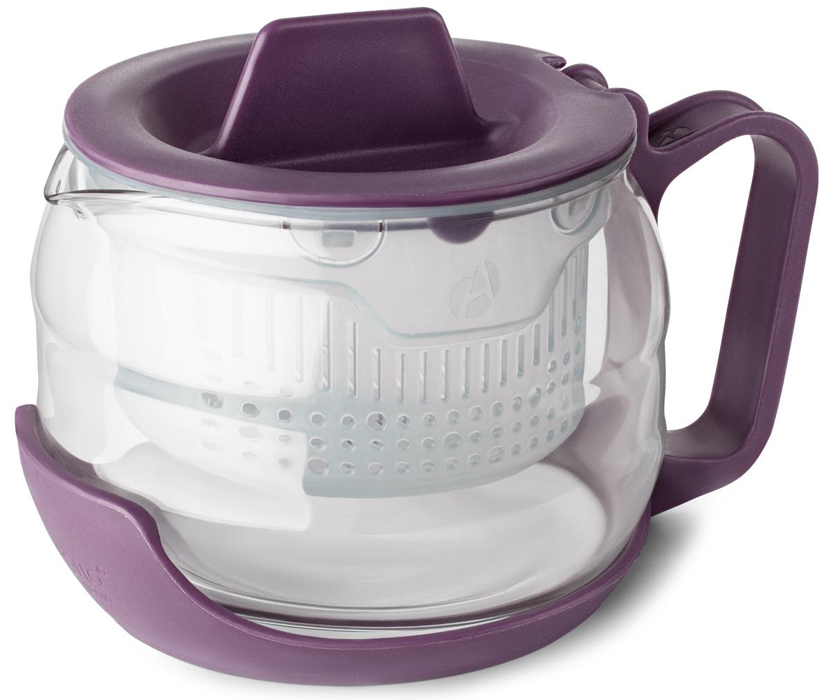 Чайник заварочный Apollo Genio Compote, CMP-70-V, фиолетовый, 700 мл