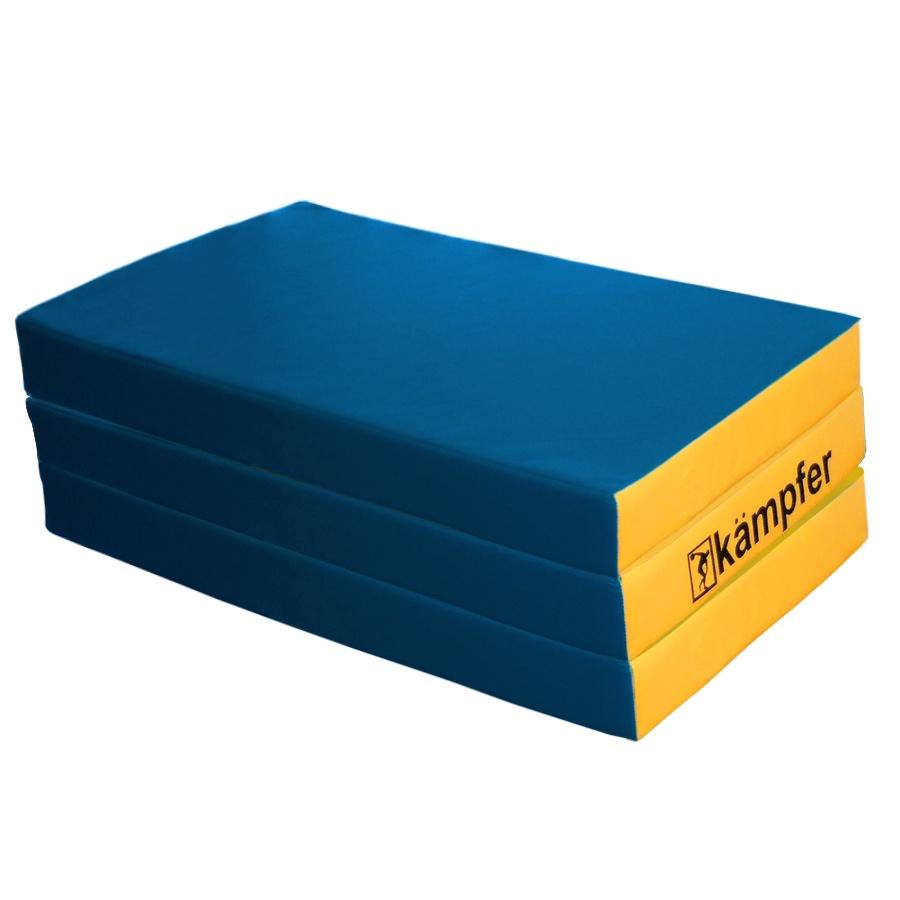 Мат Kampfer mat 6 blue, синий, желтый цена
