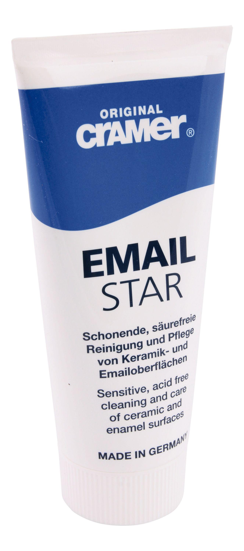 Паста Cramer Email-Star: очистка и уход за эмалированными и керамическими поверхностями эмаль original cramer для сантехники и бытовой техники цвет star white 005 белый