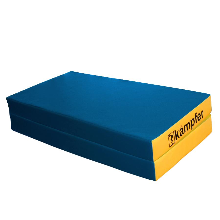 цена на Мат Kampfer mat 4 blue, синий, желтый